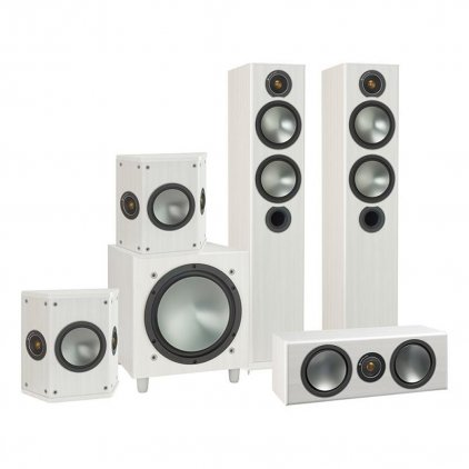 Комплект акустики Monitor Audio Bronze AV 5.1 white ash