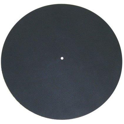 Мат для диска проигрывателя Pro-Ject Leather it black