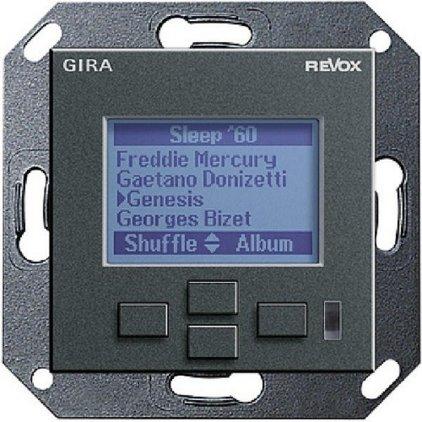 Настенная панель управления Revox M217 display GIRA System 55 (антрацит)