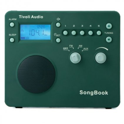 Радиоприемник Tivoli Audio Songbook green (SBGRN)
