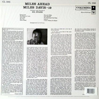 Виниловая пластинка Miles Davis MILES AHEAD (MONO)