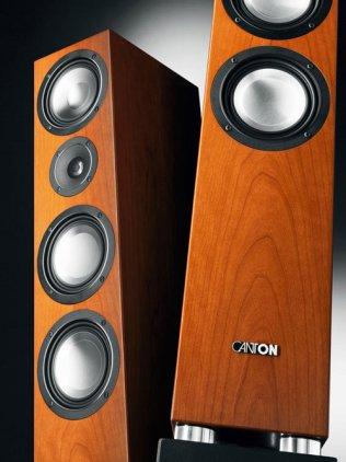 Напольная акустика Canton Chrono CL 580.2 DC cherry gold (пара)