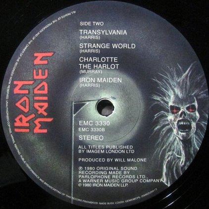 Виниловая пластинка Iron Maiden IRON MAIDEN (180 Gram)