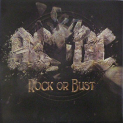 Виниловая пластинка AC/DC ROCK OR BUST (LP+CD/180 Gram/With three dimensional cover art)