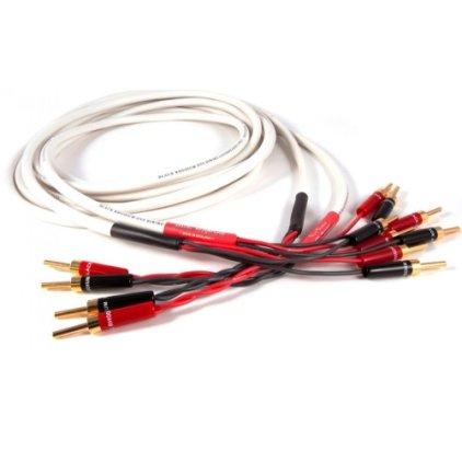 Акустический кабель Black Rhodium JIVE Bi-Wire 2.5m white