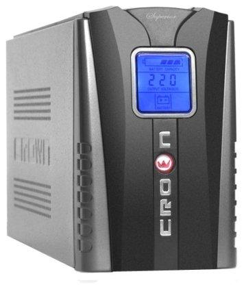 ИБП Crown Micro CMU-800VA LCD euro