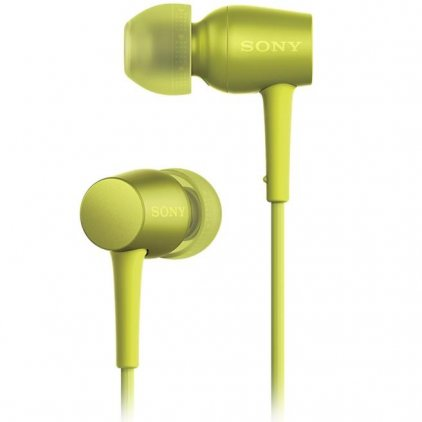 Наушники Sony MDR-EX750AP yellow