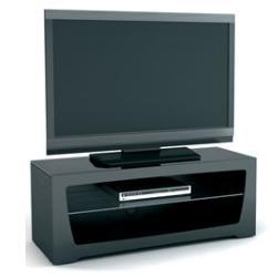 Подставка под телевизор MD 520.1010 (черный/дымчатое стекло)