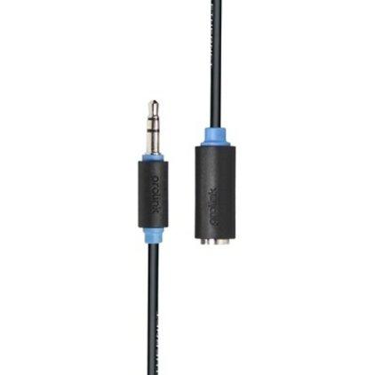 Кабель удлинительный Prolink PB106-0500 (3.5Jack - 3.5Jack (M-F), стерео-аудио, 5м.)