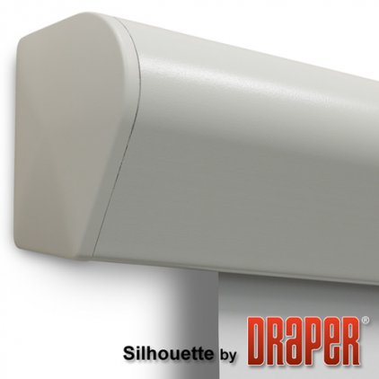 "Экран Draper Silhouette/E NTSC (3:4) 244/96"" 152*203 MW ebd 12"" case grey"