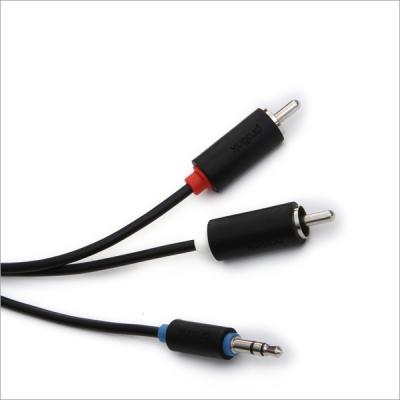 Кабель межблочный Prolink PB103-0150 (3.5Jack - 2RCA (M-M), стерео-аудио, 1,5м.)