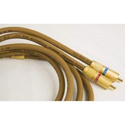 Кабель межблочный аудио Van Den Hul WATERFALL Hybrid pair RCA 1.5m