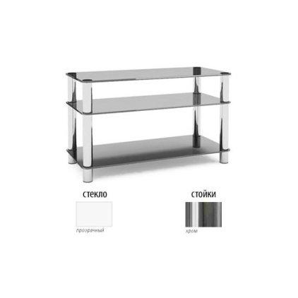 Подставка MD Flatform TV 14 (хром/прозрачное стекло)