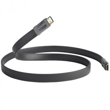 HDMI кабель QED 7500 Performance e-flex HDMI 1.0m (graphite)