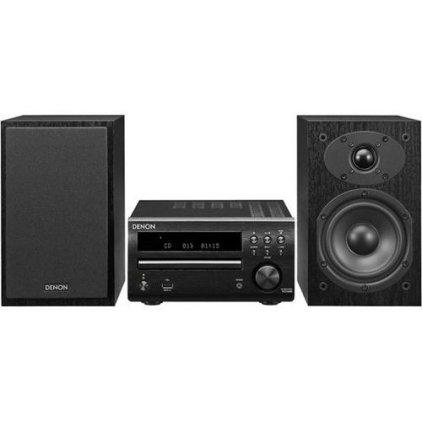 Музыкальный центр Denon D-M40 black/black (RCD-M40-B + SC-M40-B)