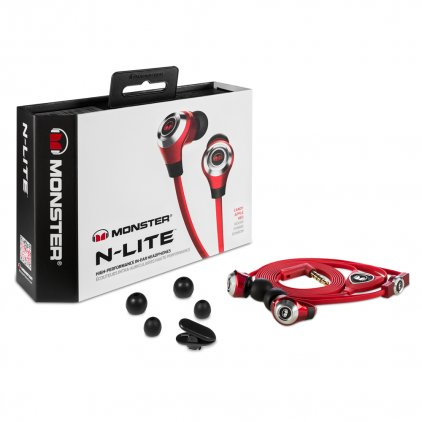 Наушники Monster N-Lite In-Ear Red (128588-00)