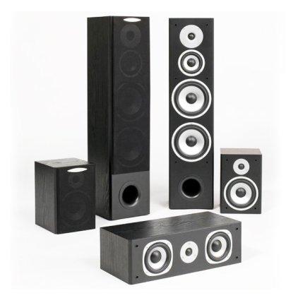 Комплект акустики Quadral Quintas 5000 II black