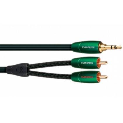 Кабель межблочный AudioQuest Evergreen 3.0m (3.5mm-RCA)