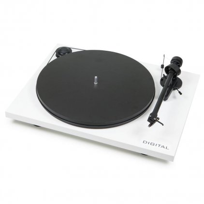 Проигрыватель винила Pro-Ject ESSENTIAL II DIGITAL (OM 5e) white