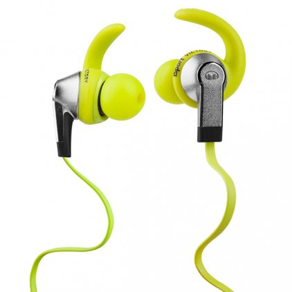 Наушники Monster iSport Victory In-Ear green (137026-00)