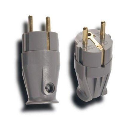 Вилка сетевая Supra Mains Plug/M SW-EU Bulk