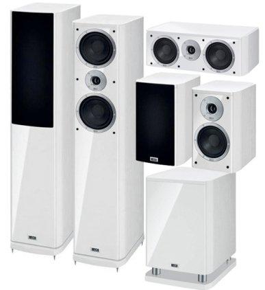 Напольная акустика Heco Music Style 500 white/white