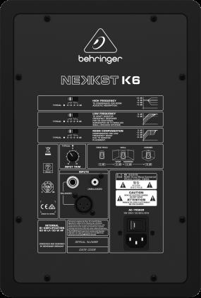 Студийный монитор Behringer K6