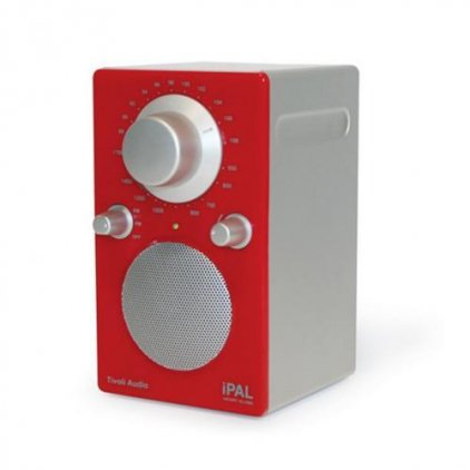 Радиоприемник Tivoli Audio Portable Audio Laboratory sunset red/silver (PALRE