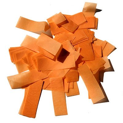 Аксессуар MLB ORANGE Confetti FP 50x20mm 1 kg