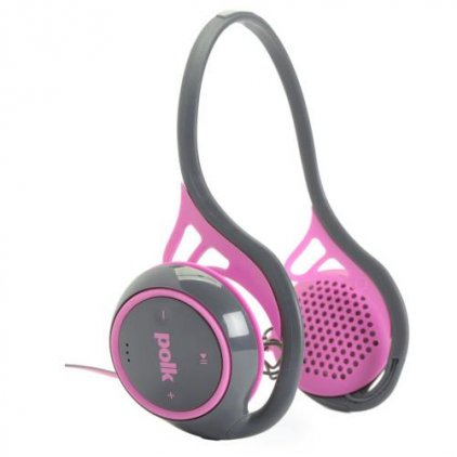 Наушники Polk Audio UltraFit 2000 pink/grey