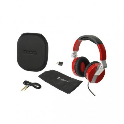 Наушники Focal Spirit One red