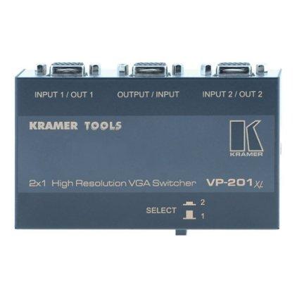 Коммутатор Kramer 2х1 VGA механический VP-201xl