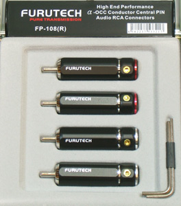 Разъемы и переходники Furutech FP-108(R) за шт