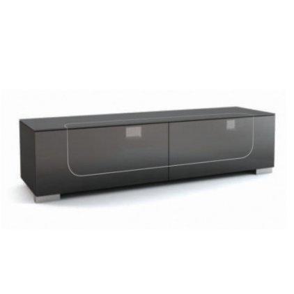 Подставка MD 509.1812 Planima (черный/дымчатое стекло/опора: серебро)
