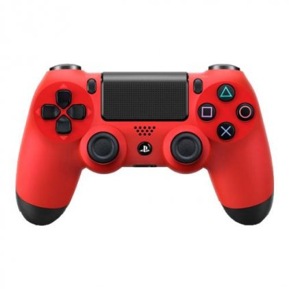 Беспроводной контроллер Sony Dualshock 4 red