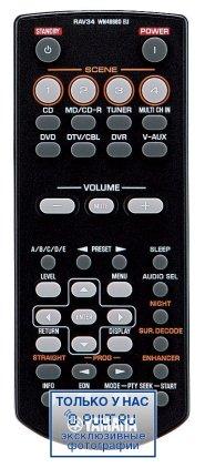 AV Ресивер Yamaha RX-V365 black