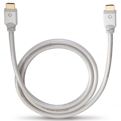 Oehlbach White Magic 75 HDMI-HDMI 0.75m (92470)