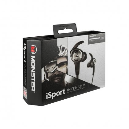 Наушники Monster iSport Intensity In-Ear Black (137019-00)