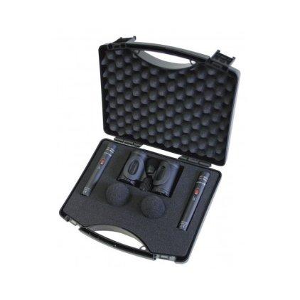 Beyerdynamic MC 930 Stereo-Set Пара микрофонов MC 930, в комплекте с ветрозащитами и кейсом.