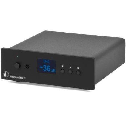 Стереоусилитель Pro-Ject Receiver Box S black