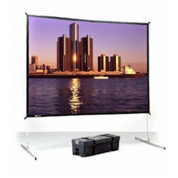 "Экран Da-Lite Fast-Fold Deluxe (3:4) 305/120"" 183x244 DualVision (мобильный) 88696"
