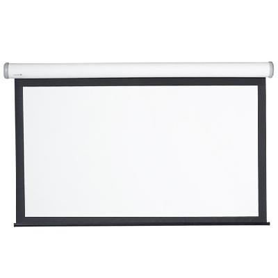 """Экран Digis DSEES-16903W_90 (Ellipse, white, формат 16:9, 246*240, 104"""", рабочая поверхность 130*230, MW)"""