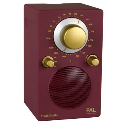 Радиоприемник Tivoli Audio Portable Audio Laboratory wine/gold (PALWNEG)