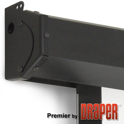 """Экран Draper Premier HDTV (9:16) 338/133"""" 165*295 M1300 (XT1000V) ebd 12"""" case black 700453"""