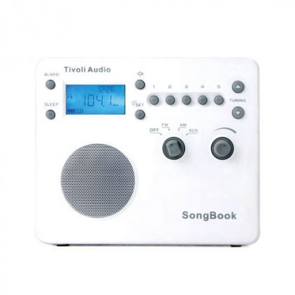 Радиоприемник Tivoli Audio Songbook white (SBWHT)