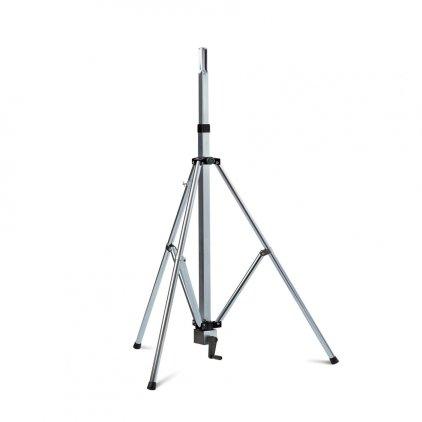 """Стойка EuroMet BS/60-A Стойка для громкоговорителей до 70кг, с треногой (одна """"нога"""" телескопическая) и механизмом для подъема, сталь с гальваническим"""