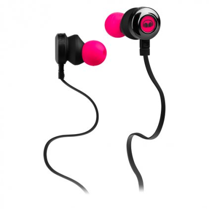 Наушники Monster Clarity HD High Definition In-Ear Headphones Neon Pink (128668-00)
