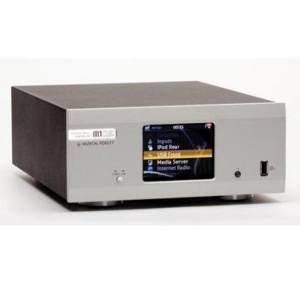 Сетевой аудио проигрыватель Musical Fidelity M1 Clic silver