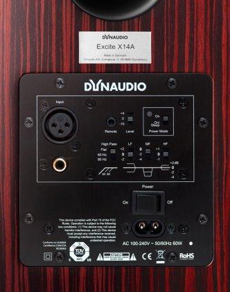 Полочная акустика Dynaudio Excite X14A walnut
