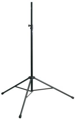 Стойка K&M K&M 21420-000-55 стойка для акустической системы или монитора, диаметр 25мм, высота от 1265 до 2105 мм.
